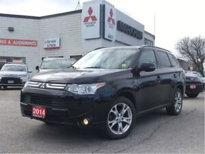 2014 Mitsubishi Outlander GT 0.9% Finance