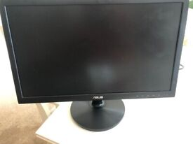 """ASUS VS228DE 21.5"""" LED Computer Screen - 2nd hand good condition"""