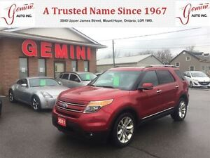 2011 Ford Explorer Limited 20's Navi Roof Tech Package