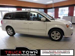 2016 Dodge Grand Caravan STOW AND GO-STUNNING IN WHITE