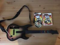 Nintendo wii guitar hero
