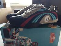 A2Z Racing Mens Martini Porsche Shoes Size 9.5/ EUR 42.5