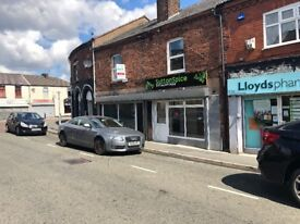 SHOP TO LET PLANNING PERMISSION FOR HOT FOOD TAKE AWAY: SUTTON, ST HELENS: REF: G9078