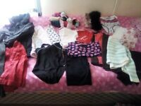Girls bundle of clothes age 7-8 years