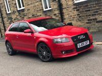 Audi A3 2.0 tdi automatic s line very rare spec