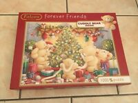 1000 Piece Forever Friends Christmas Themed Puzzle