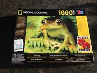 1000 Piece Jigsaw Puzzle National Geographic Photograph of a Frog