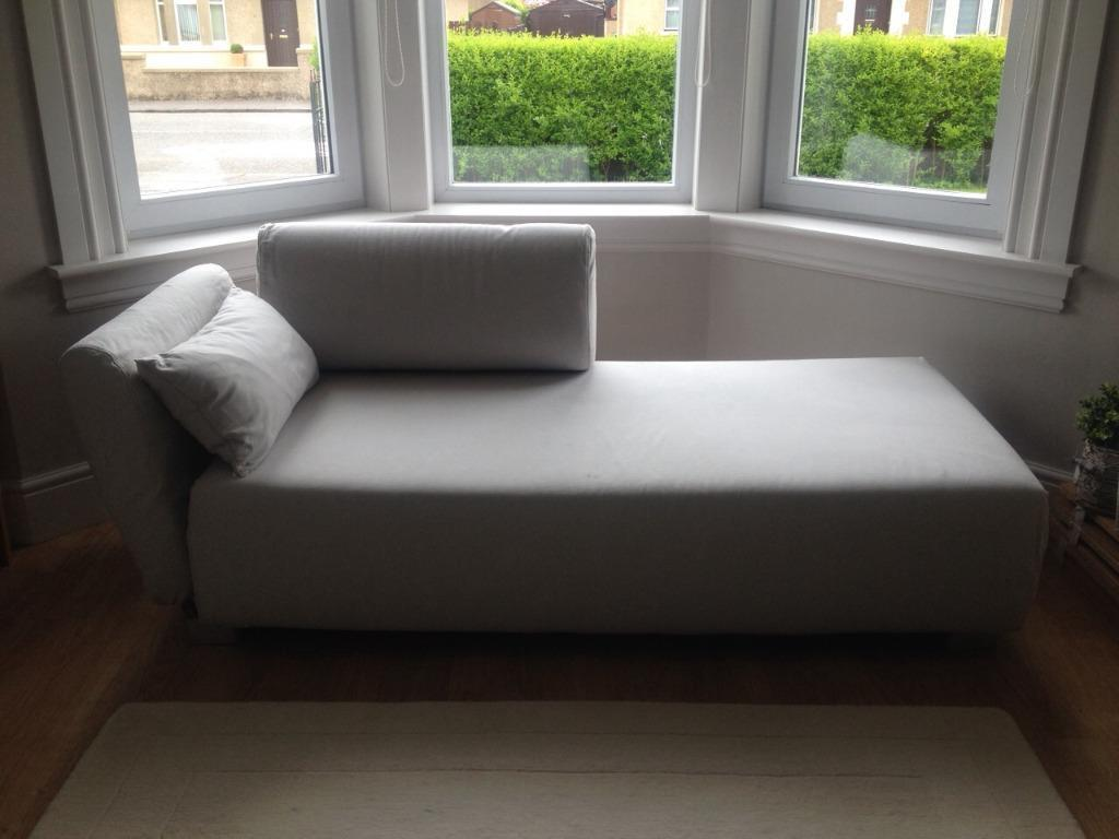 ikea mysinge chaise longue sofa in stirling gumtree. Black Bedroom Furniture Sets. Home Design Ideas