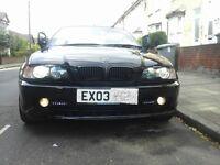BMW E46 CONVETIBLE 03 PLATE