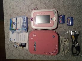 Pink Innotab 3 Vtech plus 2 Disney games