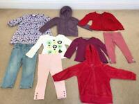 Girls clothes bundle - 18 months to 2 years - tops, jumpers, jeans, leggings , dress - GAP, M&S