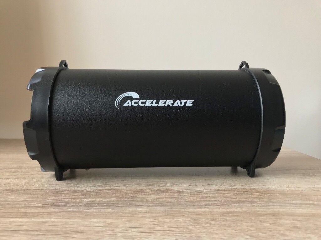 accelerate speaker bluetooth