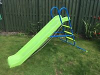 Kids Chad Valley 7ft Straight Slide - Green