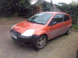 2004 Ford fiesta 1.4 Running, for spares