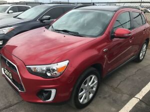 2015 Mitsubishi RVR GT 4X4, Leather, Pano sunroof, Rockford Ster