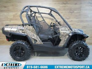 2017 Can-Am Commander 1000 XT EPS  1000 KM !!!  61$/SEMAINE
