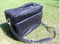 Pierre Cardin Black Briefcase & Laptop Case