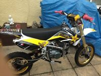 125cc pit bike swap for a 50cc road legal or £500