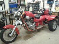 2011 Red Fenian Trike. Full MOT
