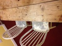 Stylish Shabby Chic Table and chairs