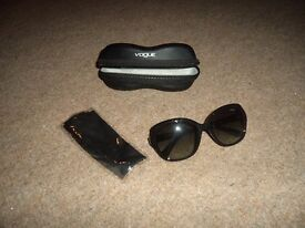 Vogue Glasses, Cloth Cleaner and Case
