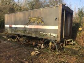 24 ft lorry container / storage