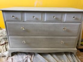 Stag dresser / chest of drawers