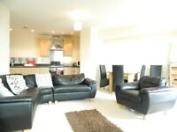 Modern two bed, two bath flat with a private balcony and onsite concierge in Bow LT REF: 4910957
