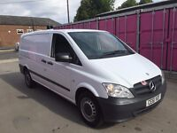 MERCEDES VITO 110CDI LWB 61REG , ONE OWNER, FOR SALE
