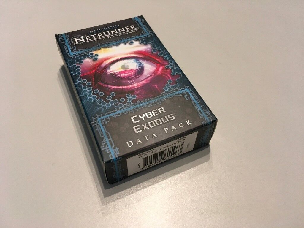 Android: Netrunner LCG Genesis Cycle- Cyber Exodus Data Pack – Unopened