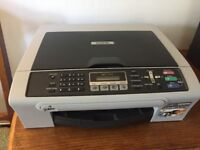 Brother colour printer and scanner