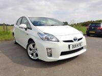 Toyota Prius 1.8 VVT-i Hybrid T Spirit (Pearl White) 5dr Full Toyota History+ 2 Key..PCO Avaiable..