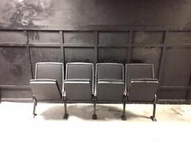 100 x Theatre/lecture chairs