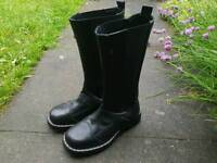Womens leather boots size 38