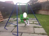 New Small Wonders Baby/Toddler Garden Swing - SETUP and READY to go