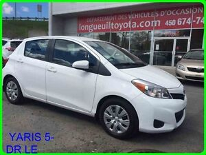 2014 Toyota YARIS 5-DR LE