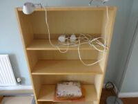 IKEA BOOKCASE WITH LIGHTS