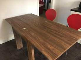 Ex NEXT extendable dining table and nest of tables
