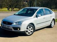 FORD FOCUS 1.8 SPORT 2007 63k LOW MILEAGE SERVICE HISTORY MOT 3 MONTHS WARRANTY CALL NOW