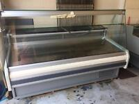 Deli display fridge with Granite worktop