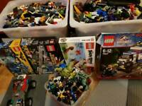 Mixed 20+ KG of Lego. Loads of Lego figures and accessories. Feltham