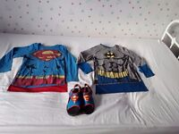 Super Hero Clothes Age 5-6yrs ***Great Condition***