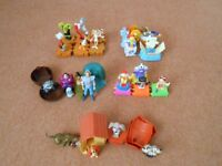 15 complete vintage sets of McDonalds Fast Food Toys. Includes better issues.