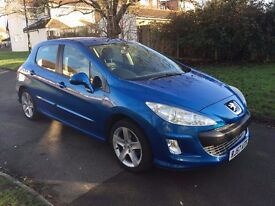 Peugeot 308 1.6 VTi Sport 5dr, p/x welcome FREE WARRANTY, FULL HISTORY