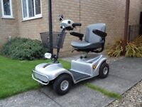Rascal 388s Mobility Scooter, mint condition, hardly been used, fully operational. Half cost of new.