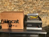 lincat gas griddle like new stainless