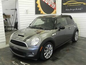 2009 MINI COOPER S * toit panoramique * cuir * mags