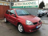 Renault Clio 1.5 dCi Extreme 4 3dr£1,485 p/x welcome NEW MOT, HPI CLEAR!