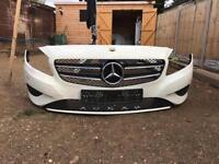 Mercedes A200 2013 bumpers