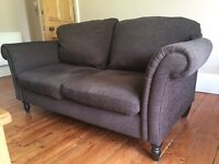 Brown 3 seater sofa from Next
